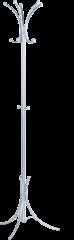Вешалка напольная «Квин» эмаль серебро
